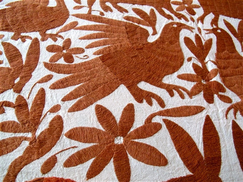 Mexican Otomi Coverlet No. 4 - The Loaded Trunk