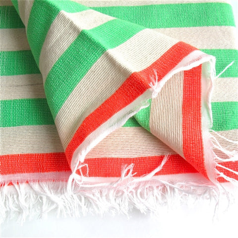 Awning-Striped Blanket No. 2 - The Loaded Trunk