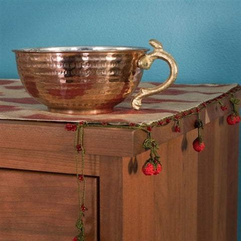 Turkish Copper Ayran Bowl No. 1 - The Loaded Trunk