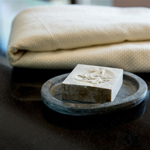 Grey Slate Soap Dish - The Loaded Trunk