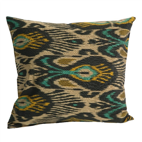 Uzbek Ikat Pillow No. 14 - The Loaded Trunk