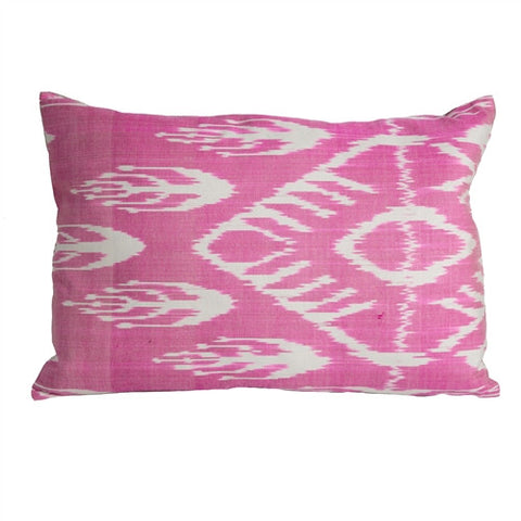 Uzbek Ikat Pillow No. 10 - The Loaded Trunk