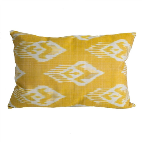Uzbek Ikat Pillow No. 11 - The Loaded Trunk