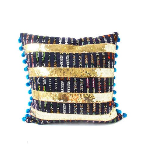 Ipala Pom Pom Pillow No. 2 - The Loaded Trunk