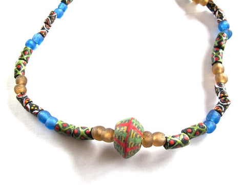 Krobo Necklace No. 4 - The Loaded Trunk