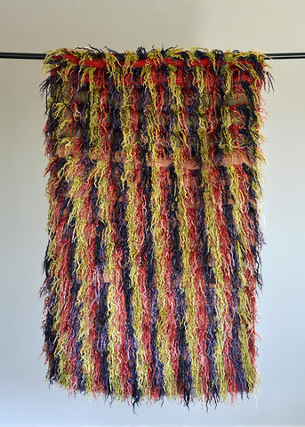 Vintage Mohair Tulu Rug No. 7 - The Loaded Trunk