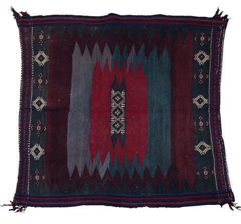 Kilim Soufreh Rug No. 7 - The Loaded Trunk