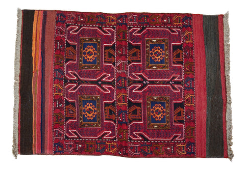 Vintage Tribal Rug No. 7 - The Loaded Trunk