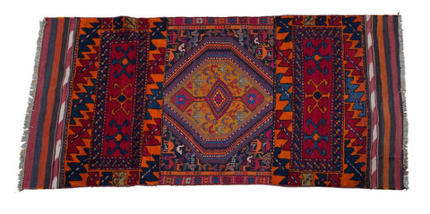 Vintage Tribal Rug No. 8 - The Loaded Trunk