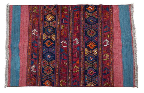 Vintage Tribal Rug No. 3 - The Loaded Trunk