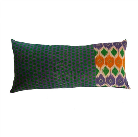 Vintage Indian Kantha Pillow - The Loaded Trunk