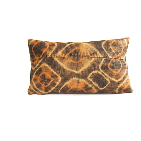 Tie-Dye Kuba Cloth Pillow No. 3 - The Loaded Trunk