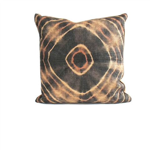 Tie-Dye Kuba Cloth Pillow No. 13 - The Loaded Trunk