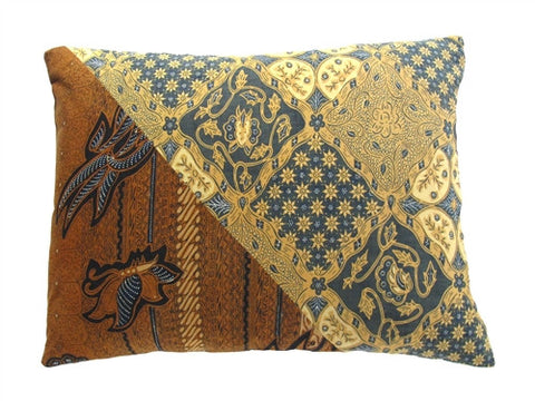 Java Batik Pillow No. 2 - The Loaded Trunk