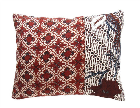 Java Batik Pillow No. 4 - The Loaded Trunk