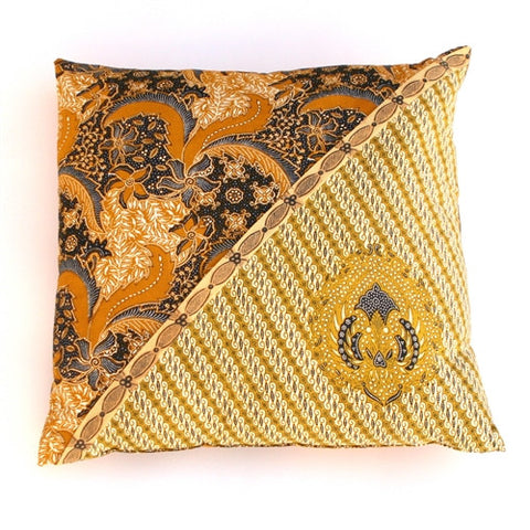Java Batik Pillow No. 8 - The Loaded Trunk