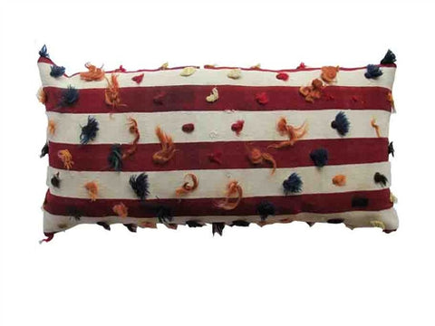 Striped Kilim Pillow No. 1 - The Loaded Trunk
