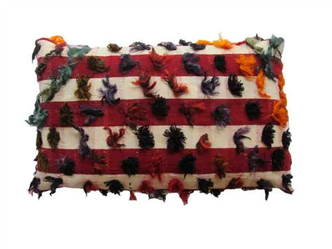 Striped Kilim Pillow No. 3 - The Loaded Trunk