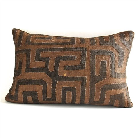 Appliqué Kuba Cloth Pillow No. 6 - The Loaded Trunk
