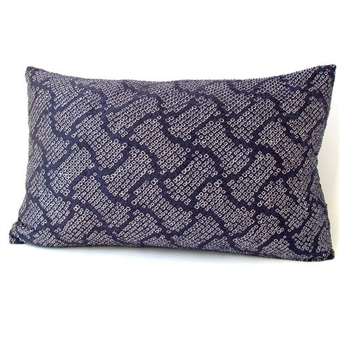 Vintage Silk Shibori Pillow - The Loaded Trunk
