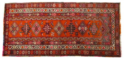 Herki Tribal Rug No. 2 - The Loaded Trunk