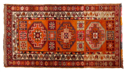 Herki Tribal Rug No. 5 - The Loaded Trunk
