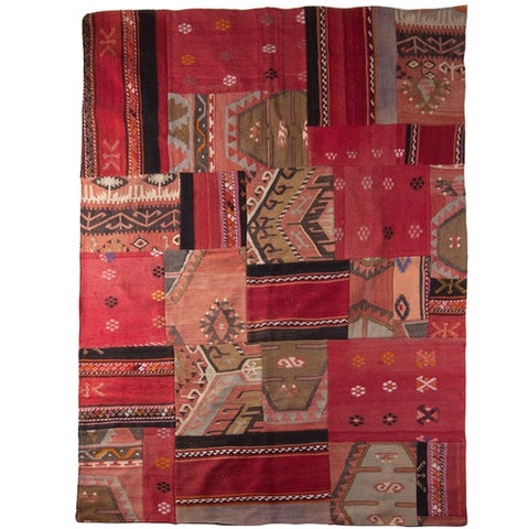 Patchwork Kilim Rug No. 4 - The Loaded Trunk
