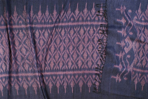 Thai Silk Ikat Wrap No. 2 - The Loaded Trunk