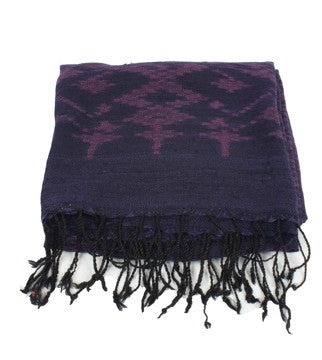 Thai Silk Ikat Wrap No. 3 - The Loaded Trunk