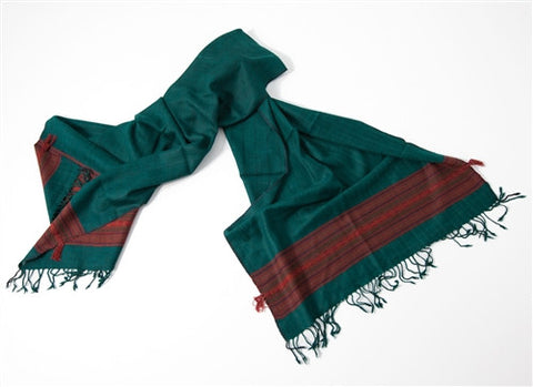 Silk & Wool Scarf No. 6 - The Loaded Trunk