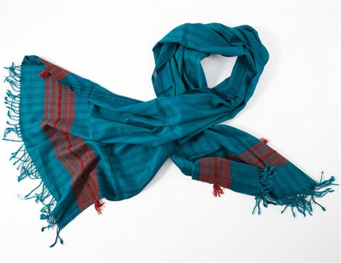 Silk & Wool Scarf No. 7 - The Loaded Trunk