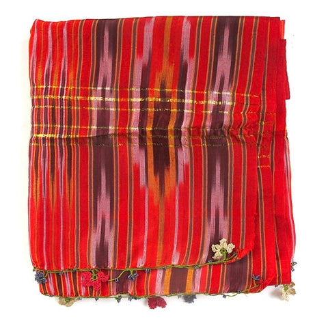 Ikat Textile No. 1 - The Loaded Trunk