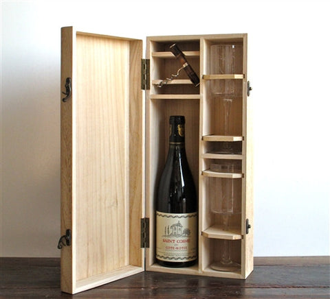 Wine Gift Box Set - The Loaded Trunk