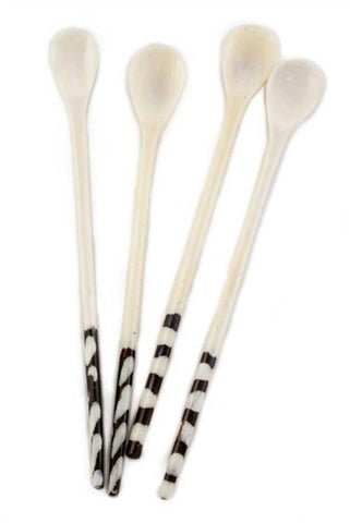 Long Batik Bone Spoon - The Loaded Trunk