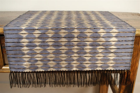 Silk Ikat Runner No. 2 - The Loaded Trunk