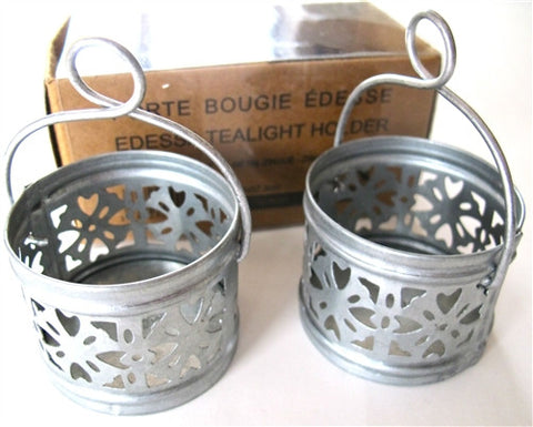 Edessa Tealight Holder (Set of 2) - The Loaded Trunk