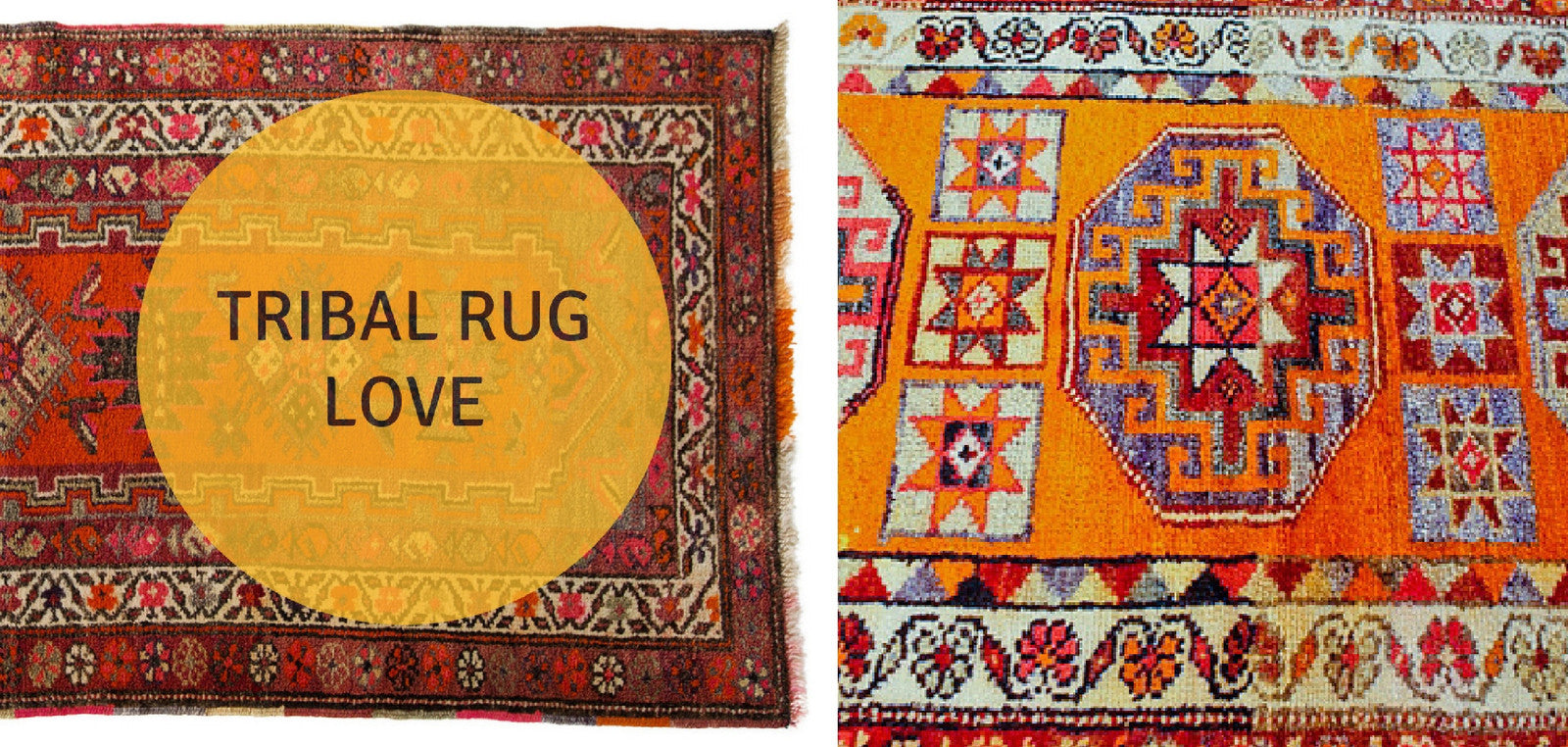 Tribal Rug Love