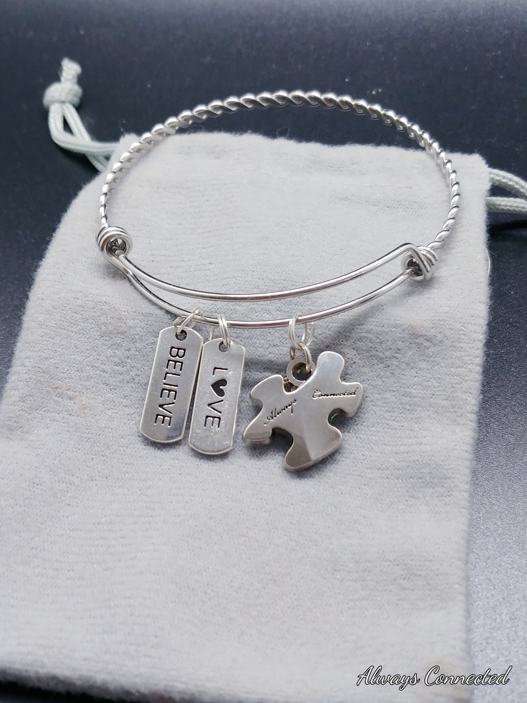 Always Connected™  Charm Bracelet