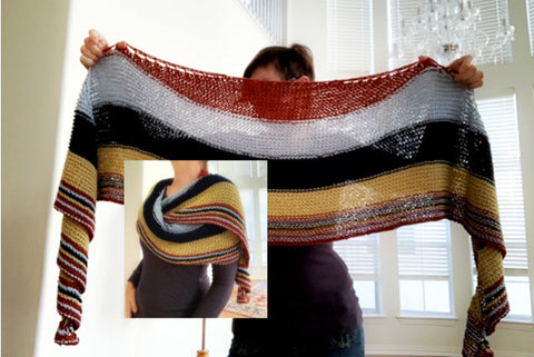 Allgood shawl pattern