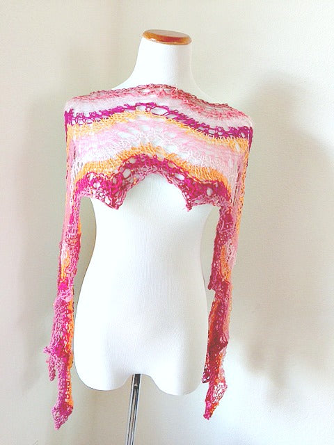 Candy Wrapper shawl