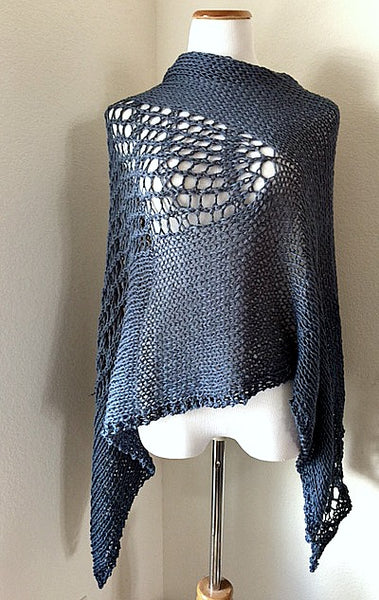 Feeling Blue knit kit