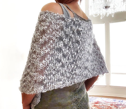 NEW! Gretchen cowl, knit kit
