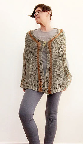 New! Jonn shawl, knit kit