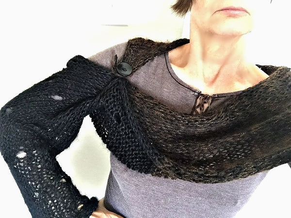 Madu shrug/shawl pattern