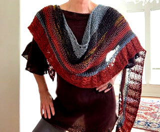 NEW! Mock me shawl, kit