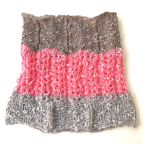 Ternate cowl, knit kit