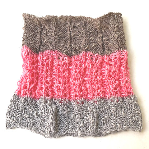 NEW! Ternate cowl, knit kit