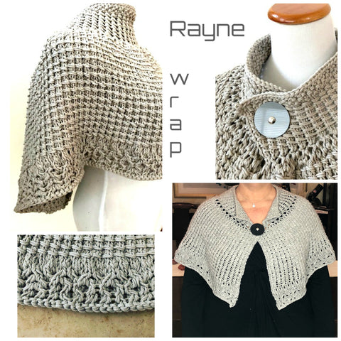 Rayne wrap pattern