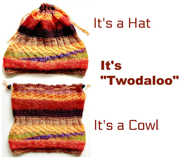 Twodaloo hat/cowl pattern