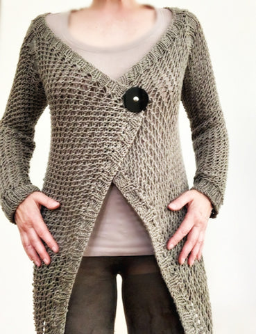 NEW! Karina vest/cardigan pattern